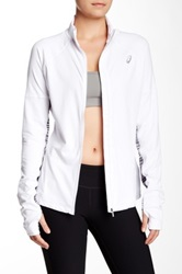 Asics Zip Up Jacket White