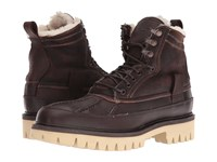 Rag And Bone Spencer Duck Boot Brown Shearling