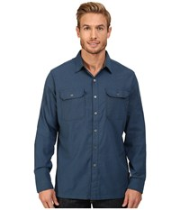Kuhl Autonomous Long Sleeve Shirt Kosmik Blue Men's Long Sleeve Button Up