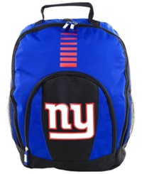 Forever Collectibles New York Giants Prime Time Backpack Team Color