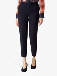 Jaeger Panel Crepe Trousers Navy