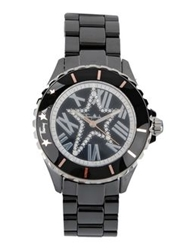 Thierry Mugler Wrist Watches Black
