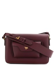 Tom Ford Hollywood Shoulder Bag Red