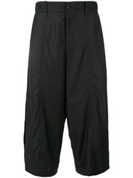 D.Gnak Cropped Trousers Black