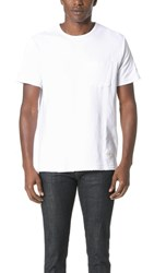 Rag And Bone Standard Issue Double Knit Tee Bright White