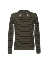 Markus Lupfer Sweaters Military Green