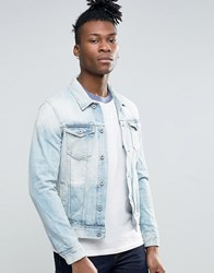 Pepe Jeans Light Wash Denim Jacket Blue