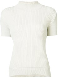 A.P.C. Ribbed Detail Jumper Nude Neutrals