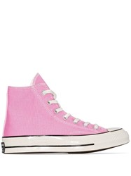 Converse 70 Chuck High Top Sneakers Pink