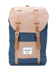 Herschel Supply Co. Retreat Colour Block Backpack Blue