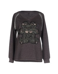 Custo Barcelona Topwear Sweatshirts Women Steel Grey