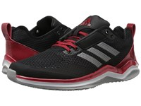 Adidas Speed Trainer 3.0 Core Black Iron Metallic Power Red Men's Basketball Shoes