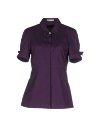 Pirelli Pzero Shirts Shirts Women Dark Purple