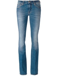 People People Flared Jeans Blue