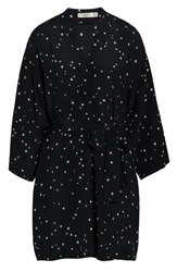 Ugg Lolla Silk Robe Black Stars