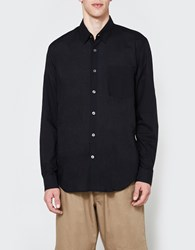 Our Legacy First Shirt Washed Black Voile