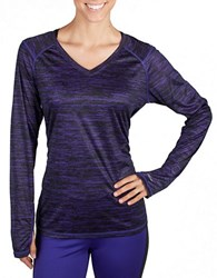 Jockey Long Sleeve Perfomance Tee Indigo Black