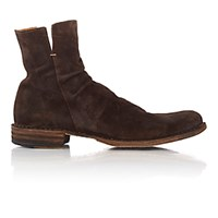 Fiorentini Baker Men's Side Zip Elf Boots Dark Brown