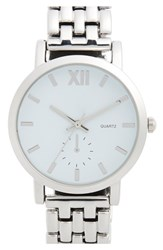 Junior Women's Bp. Bracelet Watch 38Mm Silver