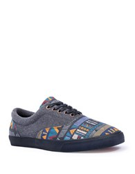 Bucketfeet Itzen Lace Up Sneakers Black