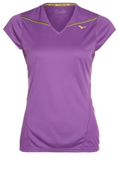 Mizuno Sports Shirt Purple