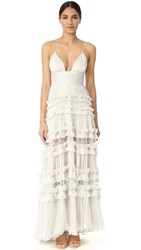 Maria Lucia Hohan Dalila Sleeveless Maxi Dress Whisper White
