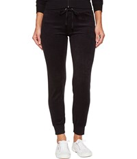 Juicy Couture Zuma Microterry Pants Pitch Black Women's Casual Pants