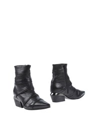 Vic Matie Vic Matie' Footwear Ankle Boots Women Black