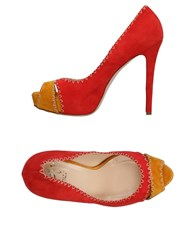 Icone Pumps Red