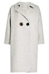Rejina Pyo Colorblock Coat In Alpaca And Wool
