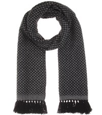 Etoile Isabel Marant Alena Wool And Cashmere Scarf Black