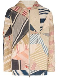By Walid Phoenix Patchwork Hooded Jacket 60