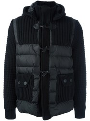Bark Padded Jacket Black