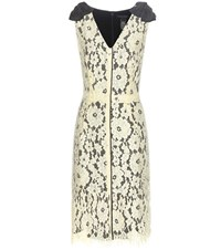 Marc Jacobs Sleeveless Lace Dress Yellow