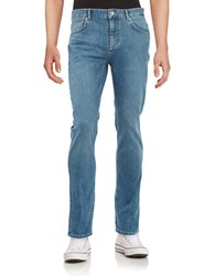 Selected Slim Striaght Jeans Light Blue