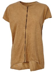 Isaac Sellam Experience 'Feignante' T Shirt Nude And Neutrals