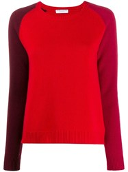 Majestic Filatures Colour Block Fitted Jumper 60