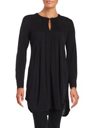 Tracy Reese Pintucked Tunic Dress Black