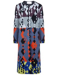 Peter Pilotto Multi Geo Print Full Length Cardigan
