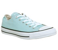 Converse All Star Low Platform Trainers Ocean
