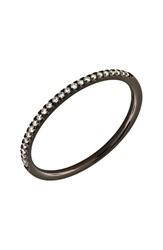 Bony Levy Women's 'Stackable' Straight Diamond Band Ring Nordstrom Exclusive Black Gold