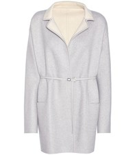 Loro Piana Jimi Reversible Cashmere Coat Grey