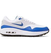 Nike Golf Air Max 1G Coated Mesh Golf Shoes White