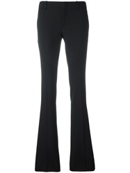 Gucci Skinny Fit Flared Trousers Black