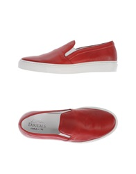 Doucal's Low Tops And Trainers Brick Red