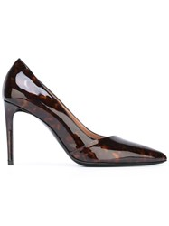 Paul Smith Marble Effect Pumps Brown