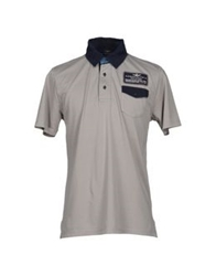 Aeronautica Militare Polo Shirts Dark Blue