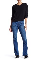 Democracy Distructed Boot Jean Blue