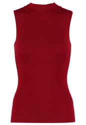 Zalando Essentials Vest Dark Red