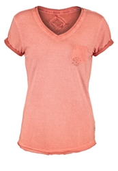 Khujo Flores Basic Tshirt Papaya Orange